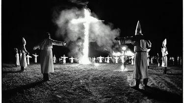 Foto van de Ku Klux Klan