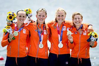 vrouwen vier zonder Olympische Spelen