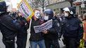 1.500 Duitsers protesteren tegen maatregelen corona