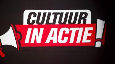 Op deze foto zie je het cultuur in actie logo