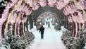 Een foto van sneeuw in Moskou waar een witte kerst bijna een zekerheidje is