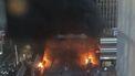 Brand in station Parijs na protesten Congolese demonstranten/ANP