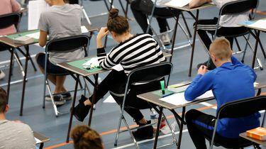 Foto van eindexamens
