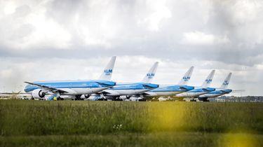 Foto van vliegtuigen KLM