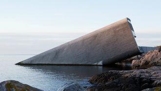 onderwaterrestaurant restaurant Noorwegen