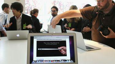 Apple brengt goedkopere Macbook Air op de markt. / AFP