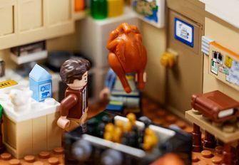 friends, lego. bouwset, appartementen