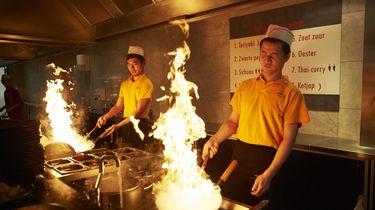 Foto van een Chinees restaurant