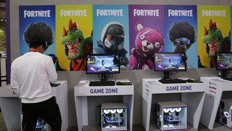 Het spel Fortnite speelt de hoofdrol in de nieuwe campagne. Foto: ANP