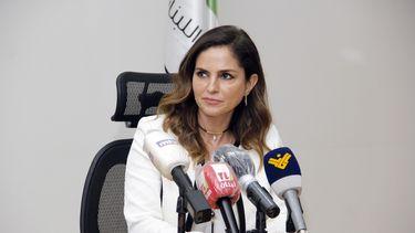 De Libansese minister Manal Abdel Samad is opgestapt na de verwoestende explosie.