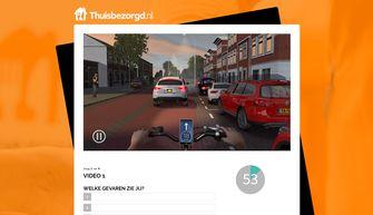 Thuisbezorgd.nl training verkeersles bezorgers