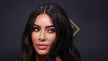 Een foto van Kim Kardashian.