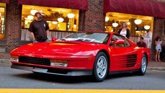 foto van Ferrari