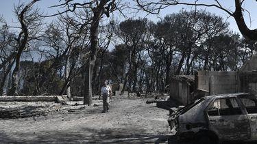 Griekenland vuurzee natuurbranden