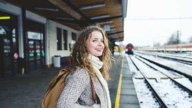 Jongeren EU trein
