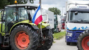 Boerenprotest dwarsboomt bevoorrading 230 winkels Albert Heijn