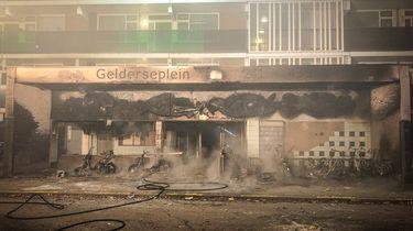 Foto van fatale flatbrand