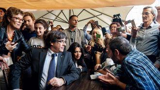 Madrid ziet Catalaanse leider graag in verkiezingen