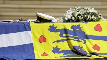 Groot-Brittannië bewijst overleden prins Philip laatste eer