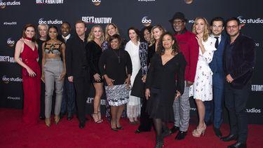 Een foto van de cast van Grey's Anatomy