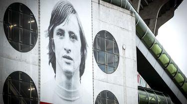 Op deze foto zie je de buitenkant van de Amsterdam Arena