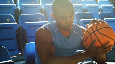 foto van basketballer