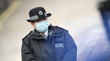 Londense politie onderbreekt kerkdienst