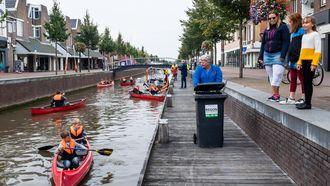 Friesland, opruimactie, vrijwilligers, plastic