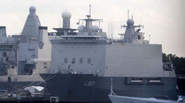 Harddrugs aangetroffen op marineschip