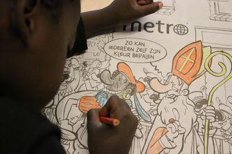 #Kleurjepiet: Groep 6 van De Vijf Hoeven heeft 'm af