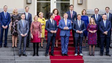 Foto van bordesfoto Rutte III