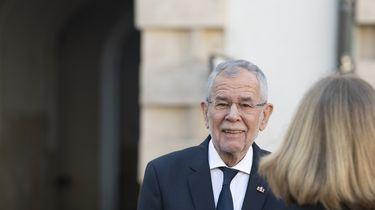 De Oostenrijkse bondspresident Alexander van der Bellen