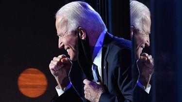 Een foto van Joe Biden.