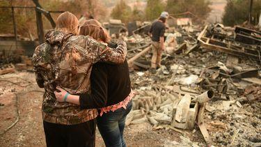Alle bosbranden in Californië zijn onder controle