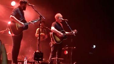 Passenger-fans in Ziggo Dome verrast door Ed Sheeran