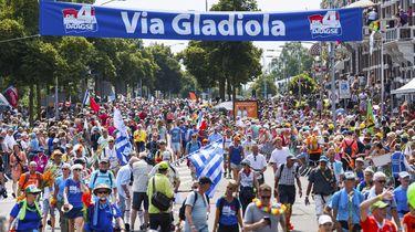 Toppers: 41.006 wandelaars lopen Vierdaagse uit