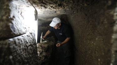 Opgraving bij de Klaagmuur