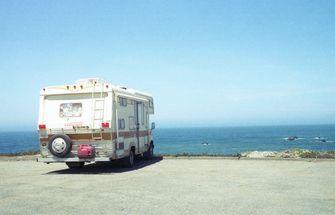 Camper campers reizen vakantie