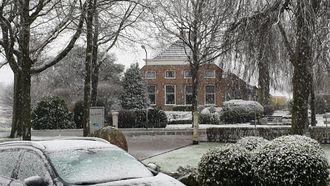 Tóch nog echte winter: het sneeuwt in Groningen