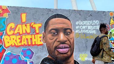 Foto van graffiti van Floyd George