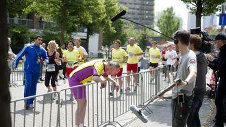 Opnames van de speelfilm De Marathon // Foto: ANP