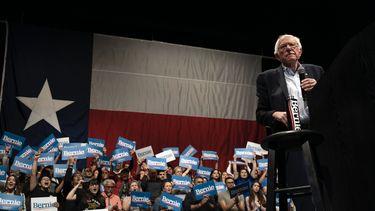 Bernie Sanders maakt verwachtingen waar met overwinning in Nevada
