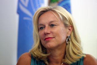 Sigrid Kaag (D66) zal de post van mnister van Buitenlandse Handel en Ontwikkelingssamenwerking gaan bekleden. Foto: AFP