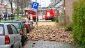 Storm zorgt voor schade in diverse delen van Nederland