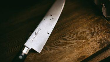 Foto van een mes