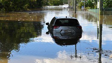 Australië overstromingen spinnen