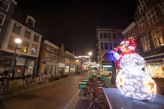 Een foto van de avondklok tijdens corona in Zwolle