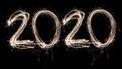 foto van 2020 vuurwerk