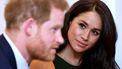 Een foto van Meghan Markle en prins Harry.