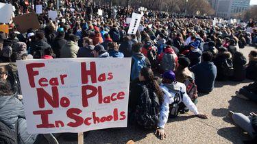 Doorzichtige rugzak op school Florida verplicht